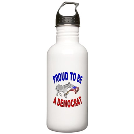 Proud Democrat Gear Stainless Water Bottle 1.0L