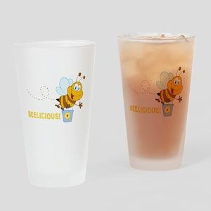 BEElicious Drinking Glass