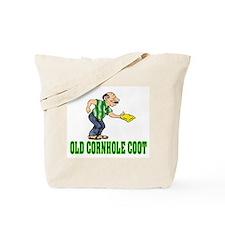 Old Cornhole Coot Tote Bag