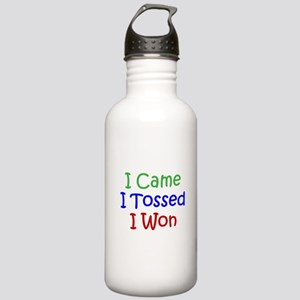 I Came I Tossed I Won Stainless Water Bottle 1.0L