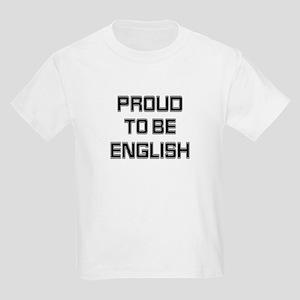 Proud to be English Kids T-Shirt