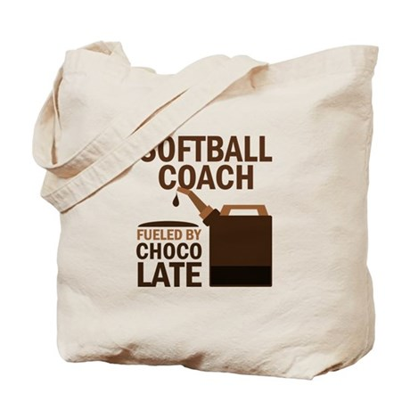 Softball Coach (Funny) Gift Tote Bag