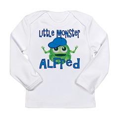 Little Monster Alfred Long Sleeve Infant T-Shirt