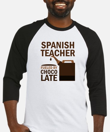 Spanish Teacher (Funny) Gift Baseball Jersey