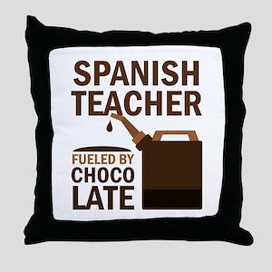 Spanish Teacher (Funny) Gift Throw Pillow