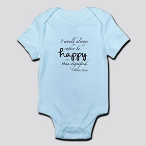 Rather Be Happy Infant Bodysuit