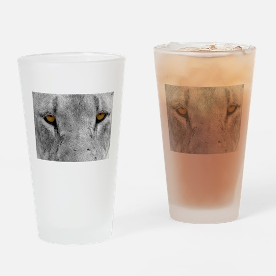 Lion Eyes Drinking Glass