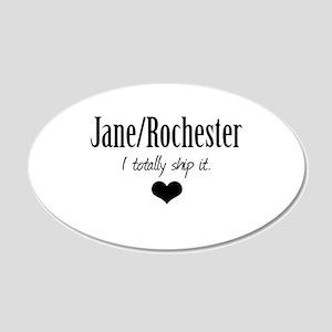 Jane/Rochester 22x14 Oval Wall Peel