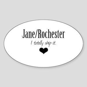 Jane/Rochester Sticker (Oval)