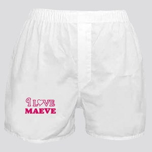 I Love Maeve Boxer Shorts