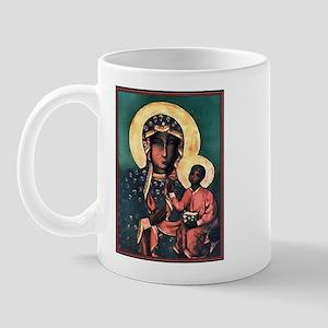 Black Madonna Mug