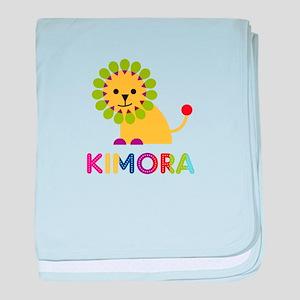 Kimora the Lion baby blanket