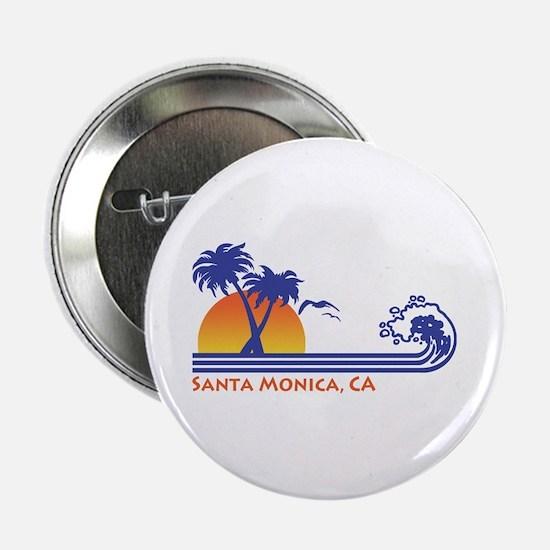 """Santa Monica 2.25"""" Button"""