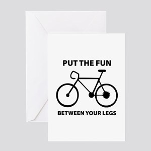 Fun between your legs. Greeting Card