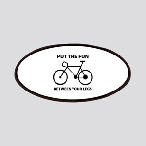 Fun between your legs. Patches