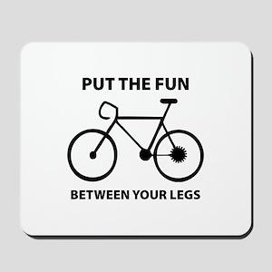 Fun between your legs. Mousepad