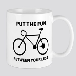 Fun between your legs. Mug