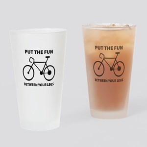 Fun between your legs. Drinking Glass