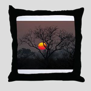 Londolozi Sunset Throw Pillow