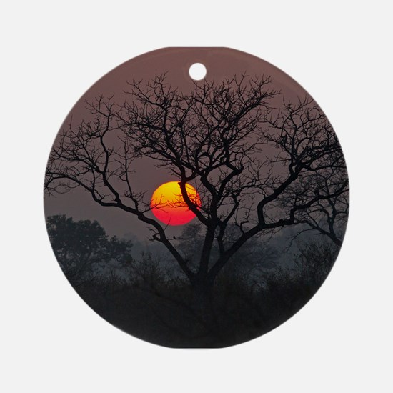 Londolozi Sunset Ornament (Round)