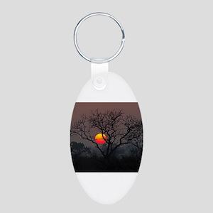 Londolozi Sunset Aluminum Oval Keychain
