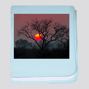 Londolozi Sunset baby blanket