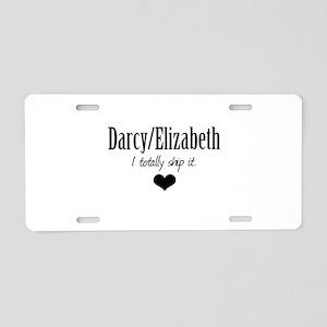 Darcy/Elizabeth Aluminum License Plate