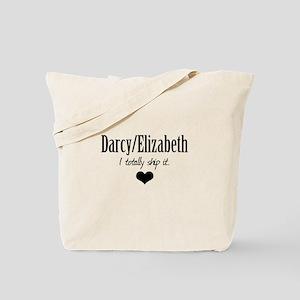 Darcy/Elizabeth Tote Bag