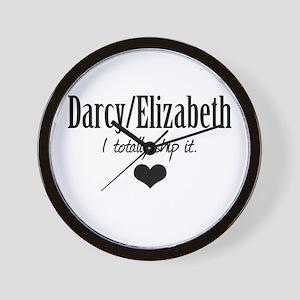 Darcy/Elizabeth Wall Clock