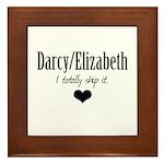 Darcy/Elizabeth Framed Tile
