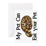 My Pet Can Eat Your Pet Greeting Cards (Pk of 20)