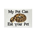 My Pet Can Eat Your Pet Rectangle Magnet (10 pack)