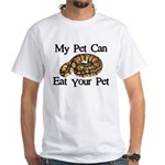 My Pet Can Eat Your Pet White T-Shirt