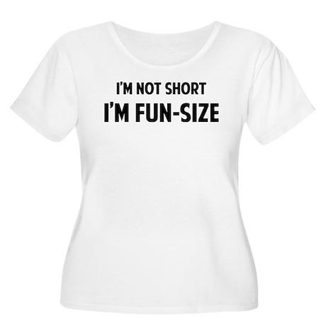 I'm FUN-SIZE Women's Plus Size Scoop Neck T-Shirt