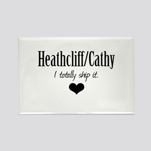 Heathcliff and Cathy Rectangle Magnet