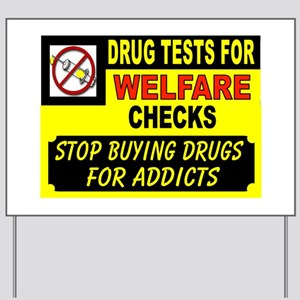TEST BEFORE PAYMENT Yard Sign