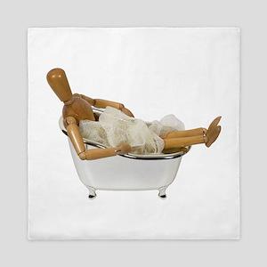 RelaxingBathtub120709 copy Queen Duvet