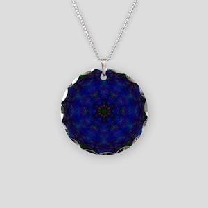 Mandala 13b1 Necklace Circle Charm