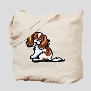 Cute Blenheim CKCS Tote Bag