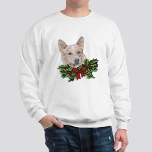 Red Heeler Christmas Sweatshirt