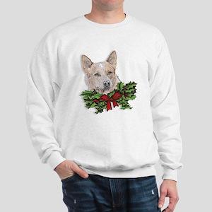 Red Heeler Christmas Sweatshirt