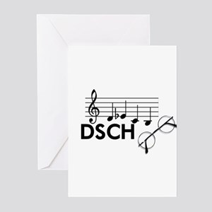 Shostakovich: DSCH Greeting Cards (Pk of 20)