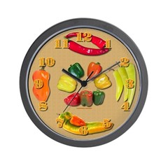 Peppers Wall Clock 2