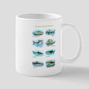 Sharks of the World Mug