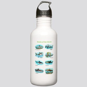 Sharks of the World Stainless Water Bottle 1.0L
