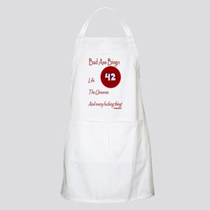 Bad Ass Bingo 42 Apron
