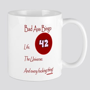 Bad Ass Bingo 42 Mug