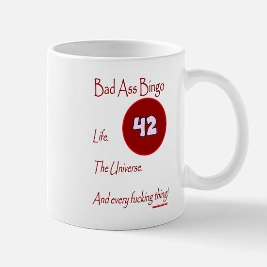 Bad Ass Bingo 42 Mug