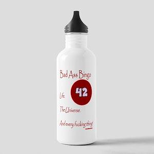 Bad Ass Bingo 42 Stainless Water Bottle 1.0L