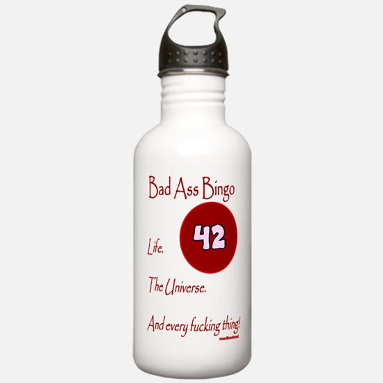 Bad Ass Bingo 42 Water Bottle